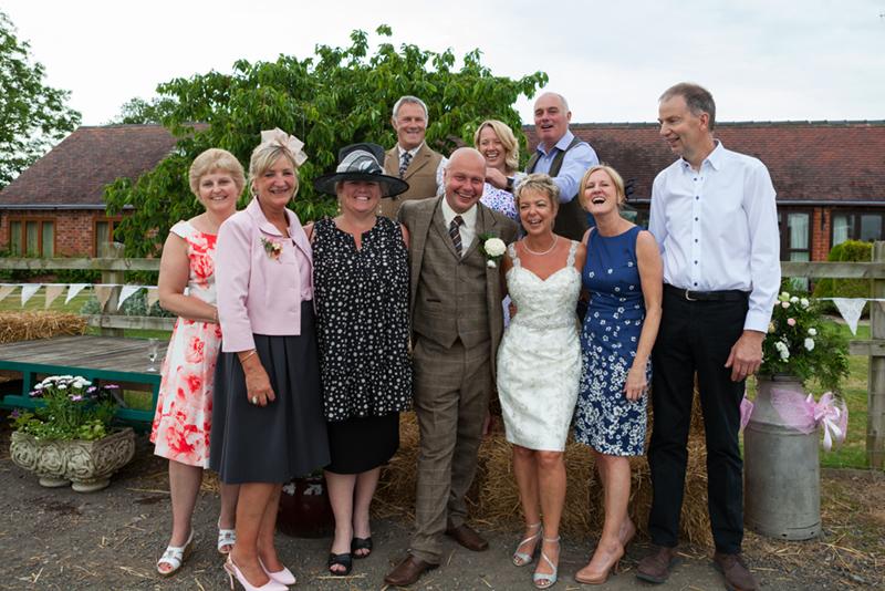 documentary wedding photography oaks barn farm